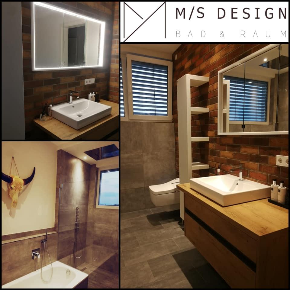 Loft Badezimmer über Den Dächern Von Freiburg Ms Design